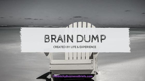 3 Minute Brain Dump