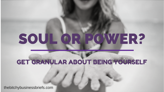Soul or Power?