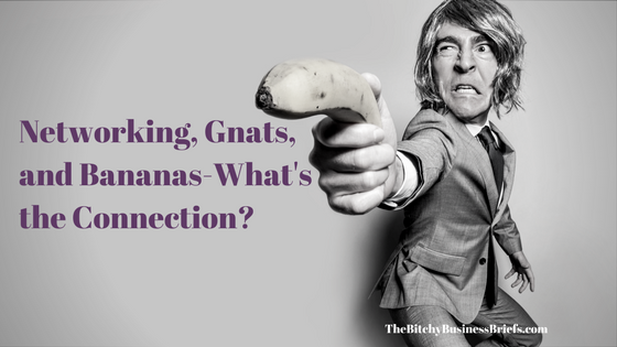 Networking, Gnats, and Bananas